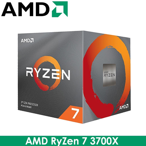 AMD RyZen R7 3700X AM4/8核16緒/3.6G(↑4.4G)/36M/7nm/65W/PCIE4.0